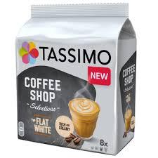 Купить <b>Кофе капсульный Tassimo Flat</b> White упаковка:8капс ...