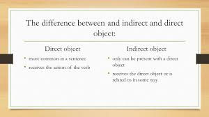direct object by evan blalock and taylor bartos ppt 10 the difference