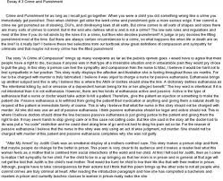 essay on crimes and punishments  great articles and essays about crime and punishment