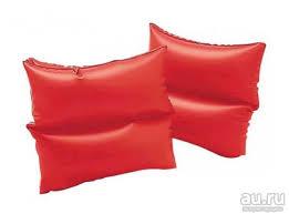 <b>Нарукавники</b> для плавания 19x19см, оранжевые, от 3 до 6 лет ...