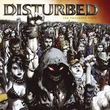 <b>Disturbed</b> - <b>Ten Thousand</b> Fists (CD) : Target