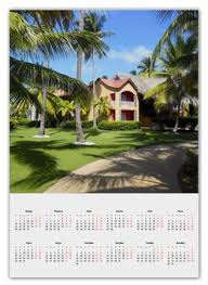 <b>Календарь А2</b> &quot;Доминикана. Тропический сад&quot
