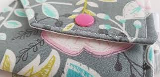 Birth Control Case Sleeve with Snap Closure and Optional <b>Keychain</b> ...
