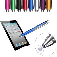 12.5cm Touch Screen Stylus Pen <b>Fine Point</b> Round <b>Thin Tip</b> ...