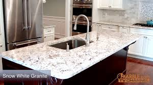 Granite Kitchen Counter Top Snow White Granite Kitchen Countertops Youtube