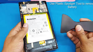 Lenovo Tab 2 A7-30 /Battery Replacement || How to open lenovo A7 ...