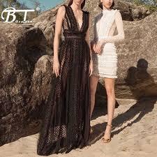 Beateen <b>2019</b> New Women Fashion <b>Sexy</b> Plunge Neckline Strap ...