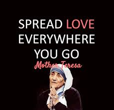 Great Love Mother Teresa Quotes. QuotesGram via Relatably.com