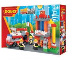 """<b>Конструктор Bauer</b> """"<b>Fireman</b>"""" <b>Пожарная</b> вышка 741 купить по ..."""