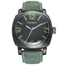 <b>CAGARNY 6833 Leather Men</b> Quartz Watch Sale, Price & Reviews ...