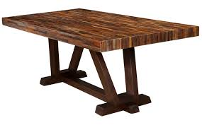 Solid Wood Dining Room Table Handmade Furniture Jh2 One Tree Home Handmade Solid Wood Furniture