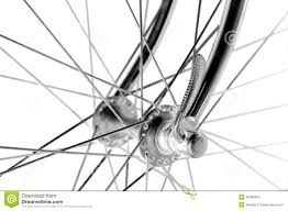 vintage bicycles front hub stock photo image  vintage bicycles front hub