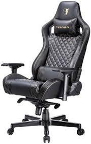 <b>Игровое кресло Tesoro</b> Zone X F750, TS-F750BK, black gold stitch ...