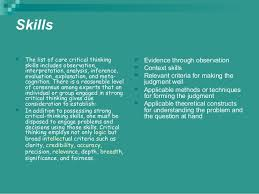 Creativity and critical thinking ppt   mfacourses    web fc  com