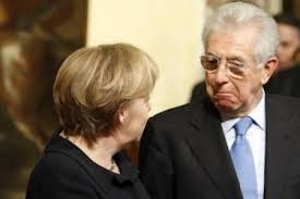 Merkel sconfessa Monti: mai parlato con lui di elezioni italiane