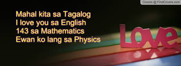 Mahal kita sa Tagalog I love you sa English 143 sa Mathematics ... via Relatably.com