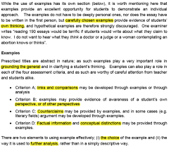 nothingnerdy   finding examples for your tok essay examples toksrpng