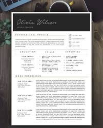 SALE Creative Resume Template  Modern Resume Design for Word       page resumes Pinterest