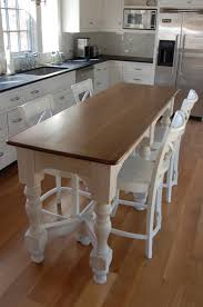 Kitchen Island Bar Table Your Small Family Could Gather At Dinner Time Happily Around This
