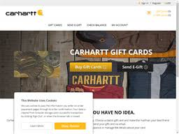 Carhartt | Gift Card Balance Check | Balance Enquiry, Links ...