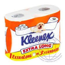 Туалетная бумага <b>Kleenex</b> COTTONELLE 2-сл. Extralong 4рул/уп ...