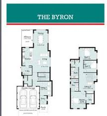 images about House designs on Pinterest   New Home Plans    Narrow Block  Small Lot  Lot House  Byron  House Designs  House Plans