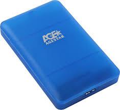 """<b>Внешний корпус</b> 2.5"""" SATAIII HDD/SSD <b>AgeStar 3UBCP3</b> (BLUE ..."""
