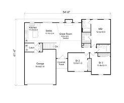 Seymour Mill Ranch Home Plan D    House Plans and MoreTraditional House Plan First Floor   D    House Plans and More