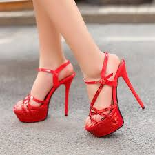 Image result for red heels