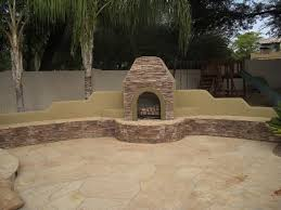 outdoor fireplace travertine patio phoenix outdoor fireplaces have many functions