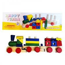 <b>Деревянная игрушка QiQu Wooden</b> Toy Factory Поезд ...