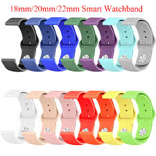 <b>18mm 20mm 22mm Silicone</b> band for Huawei/Withings/Samsung ...