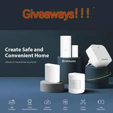 Gearbest - Giveaways! Alfawise Zi Smart Home Security Kit ...