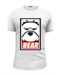 <b>Футболка</b> Wearcraft Premium Slim Fit <b>Мишка</b> (<b>Bear</b>, Obey) #464092 ...