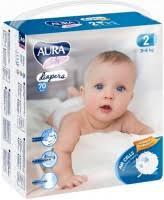 <b>Подгузники Aura Baby</b> Diapers 2 (/ 70 pcs) купить ▷ цены и ...