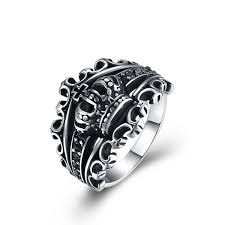 2019 <b>GOMAYA Mens Crown Rings</b> New Fashion Ring Hot Sale ...