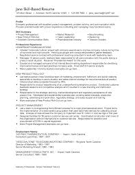 template resume skills section examples customer  day cotemplate resume skills section