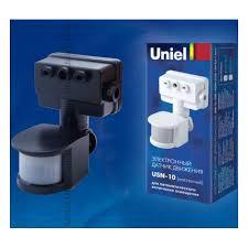 <b>Датчик движения Uniel</b> USN-10-180R-1200W-3LUX-12M-0,6-1,5m ...