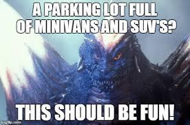 Glaring Space Godzilla - Imgflip via Relatably.com