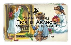 Купить <b>натуральное мыло merry christmas</b> fiori di arancio 100г ...