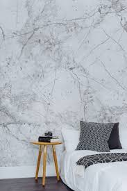 room elegant wallpaper bedroom: this marble wallpaper design leaves your interiors looking sleek and sophisticated perfect for a minimal look bedroom source by nicolastoeckert i do no