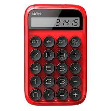Настольный <b>калькулятор Lofree Digit</b>, красный