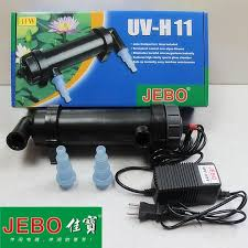 JEBO <b>UV</b>-<b>H11</b> 11W <b>UV Sterilizer Lamp Light Ultraviolet</b> Filter ...