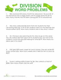 4th Grade Division Word Problems | Education.comDivision Word Problems: Show Me the Money!