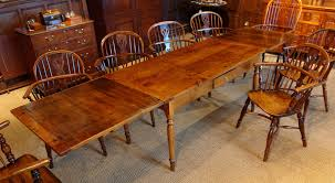 italian fruitwood dining table