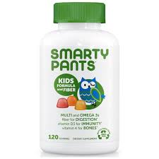 Onhand! Smartypants, <b>Kid Formula and Fiber</b>, 120 Gummies ...