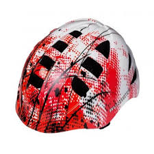 <b>Шлем RunBike</b> красно-белый