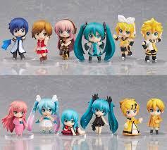 <b>12pcs</b>/<b>set My Cute</b> Hatsune Miku Kagamine Rin/Len toys Action little ...