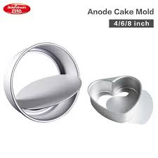 Aluminum Alloy <b>Cake Mold</b> With Removable <b>Bottom Anode</b> Surface ...