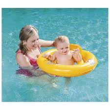 <b>Круг</b> для плавания Swim Safe ступень «А», с сидением и спинкой ...